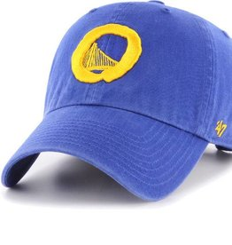 GS Warriors/OG Slick 47 Clean Up Hat - Royal Blue/Yellow