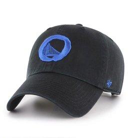 GS Warriors/OG Slick '47 Clean Up Hat - Black/Royal Blue