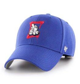 LA Clippers/OG Slick '47 MVP Hat - Royal Blue/Red