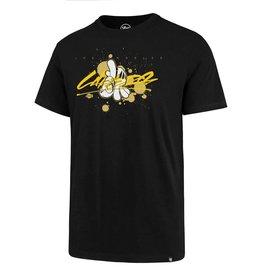 LA Lakers/Og Slick 47 Splitter Tee - Lakers Handstyle - Black