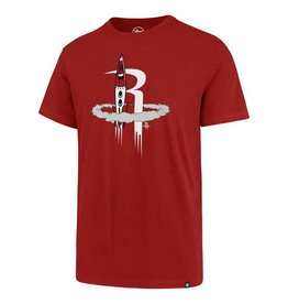 Houston Rockets/Og Slick '47 Splitter Tee - Rocket - Red