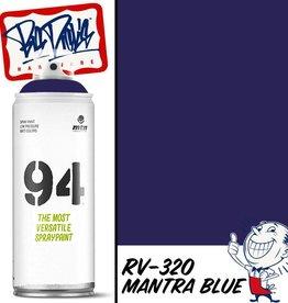 MTN 94 Spray Paint - Mantra Blue RV-320