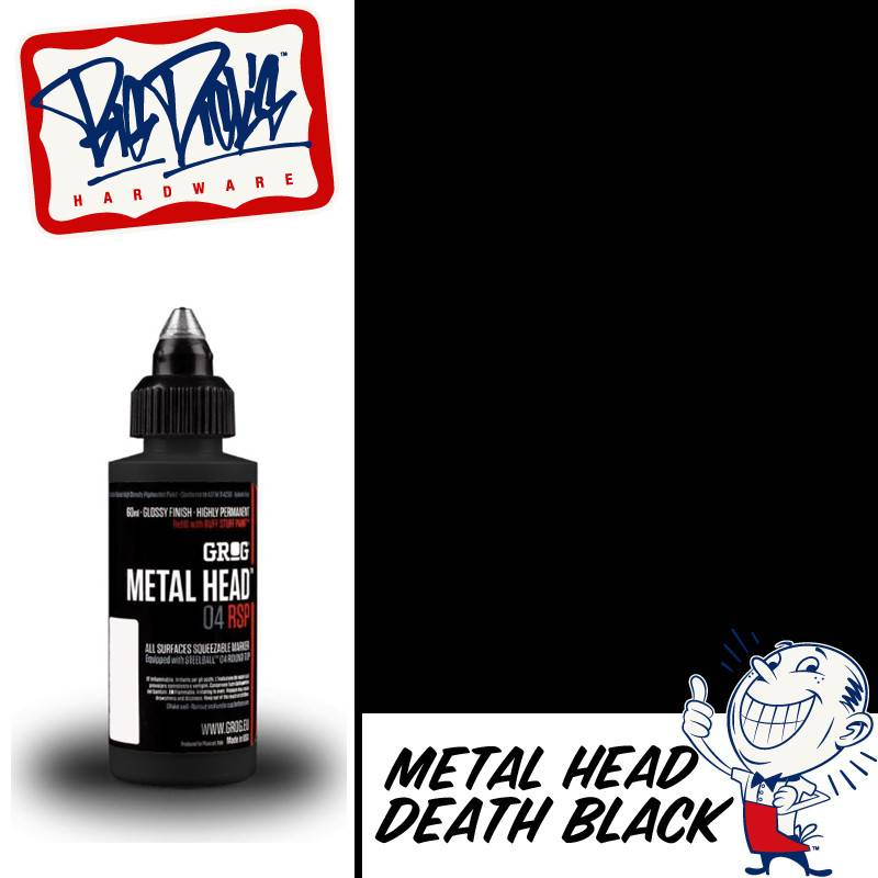 Grog Metal Head - Death Black 60ml