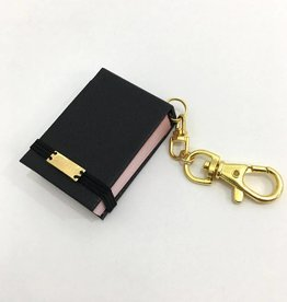"World Map - Blackbook Key Chain (Badge) - 1.375"" x 2"""