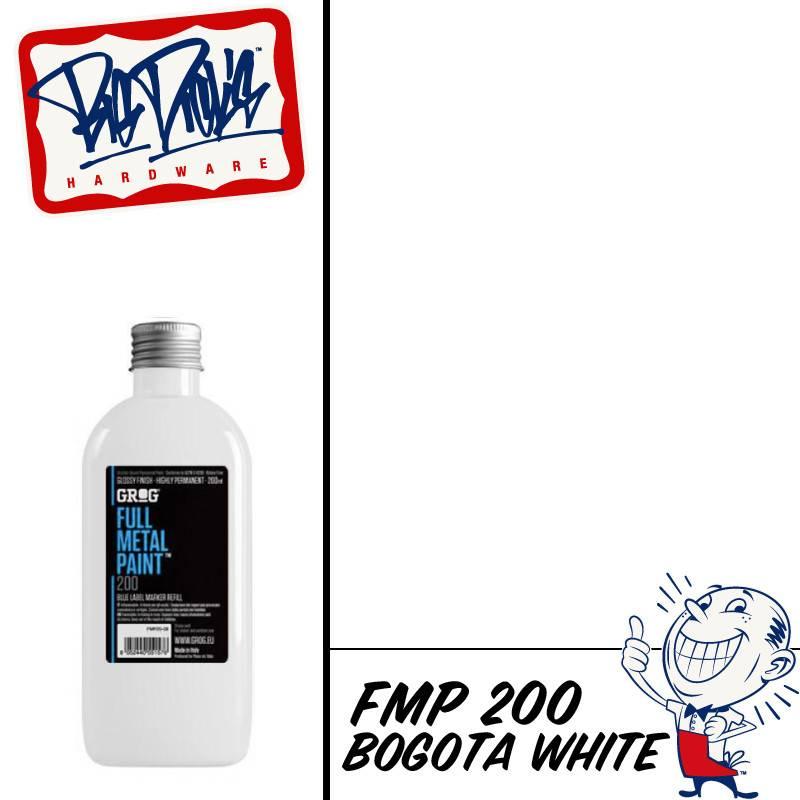Grog FMP Refill - Bogota White 200ml