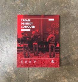 Create Destroy Conquer Graffiti Book