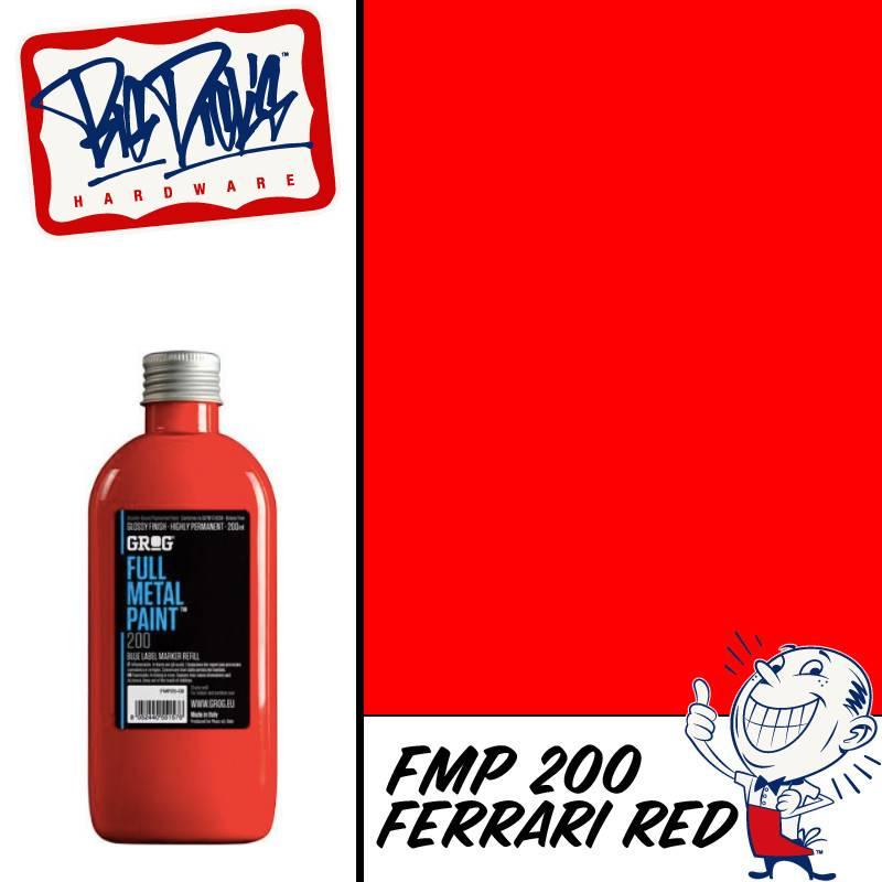 Grog FMP Refill - Ferrari Red 200ml