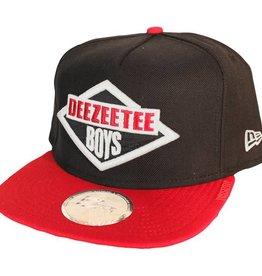 Dissizit NE Snapback - Deezeetee - Black/Red