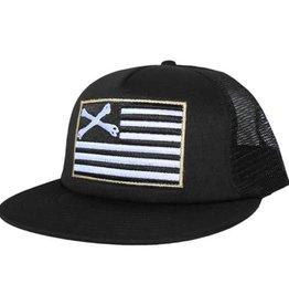 Dissizit Trucker - Black Flag - Black