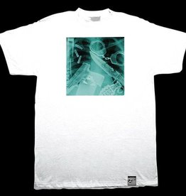 Dissizit Tee - Inside Job - White