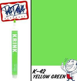 Krink K-42 Paint Marker - Yellow Green