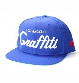 Graffiti The City Snapback - Los Angeles Graffiti - True Blue