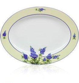 Bluebonnet Oval Platter