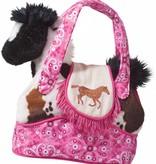 Rodeo Pink Horse Plush Purse