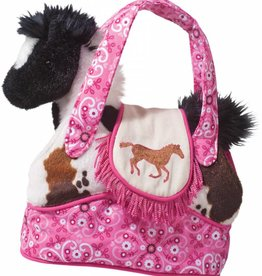 Rodeo Pink Horse Plush Purse