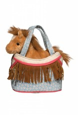 Calico Horse Plush With Purse