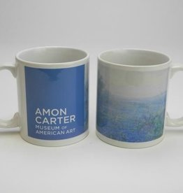 A Cloudy Day, Bluebonnets near San Antonio, Texas Art Mug