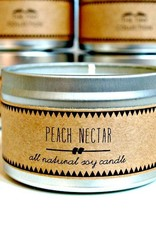 Texas Peach Nectar Soy Candle
