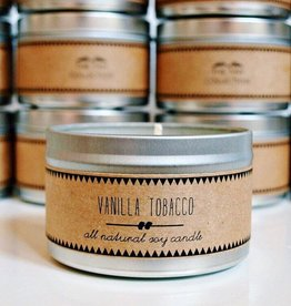Vanilla Tobacco Soy Candle