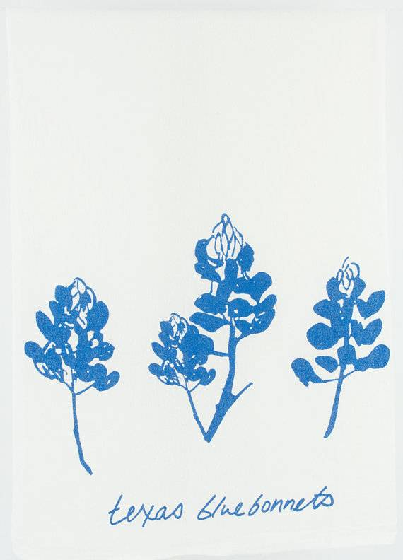 Bluebonnet Kimball Tea Towel