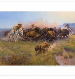 Amon Carter Poster Prints The Buffalo Hunt [No. 39]