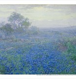 Amon Carter Poster Prints A Cloudy Day, Bluebonnets near San Antonio, Texas