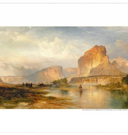 Amon Carter Poster Prints Cliffs of Green River