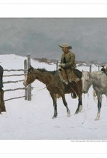 Amon Carter Poster Prints The Fall of the Cowboy