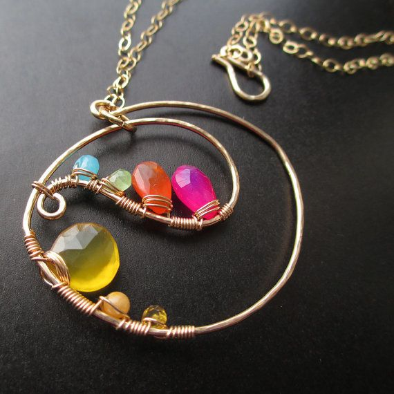 Kristin Cooper Rainbow Necklace
