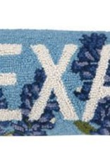 Peking Handicraft, Inc. Texas Bluebonnet Pillow
