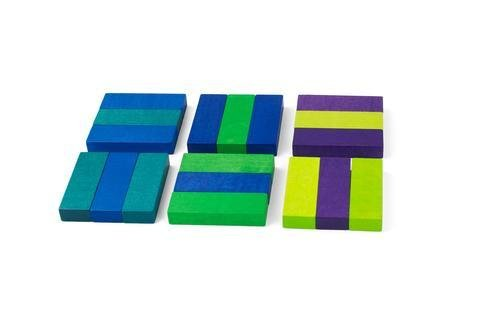 Playable Art Coaster Set in Green