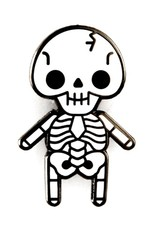 These Are Things Skeleton Pin