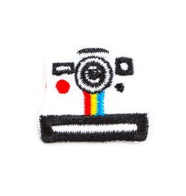 These Are Things Polaroid Sticker Patch