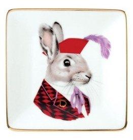 Berkeley Bestiary Jack Rabbit Porcelain Tray
