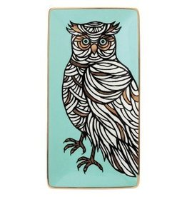 Patch NYC Porcelain Owl Tray