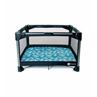4moms Breeze Play Yard Waterproof Playard Sheet In Blue