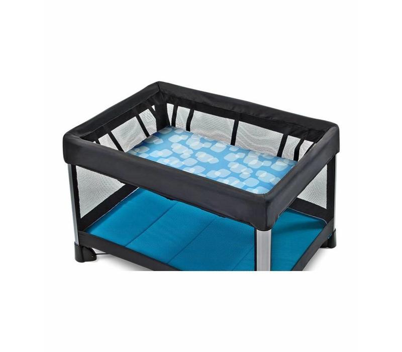 4moms Breeze Bassinet Waterproof Playard Sheet In Blue