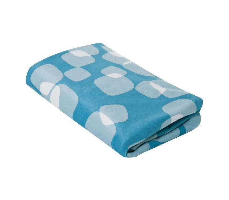 CLOSEOUT!! 4moms Breeze Bassinet Waterproof Playard Sheet In Blue