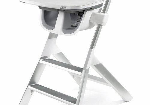 4moms 4moms High Chair In White - Grey