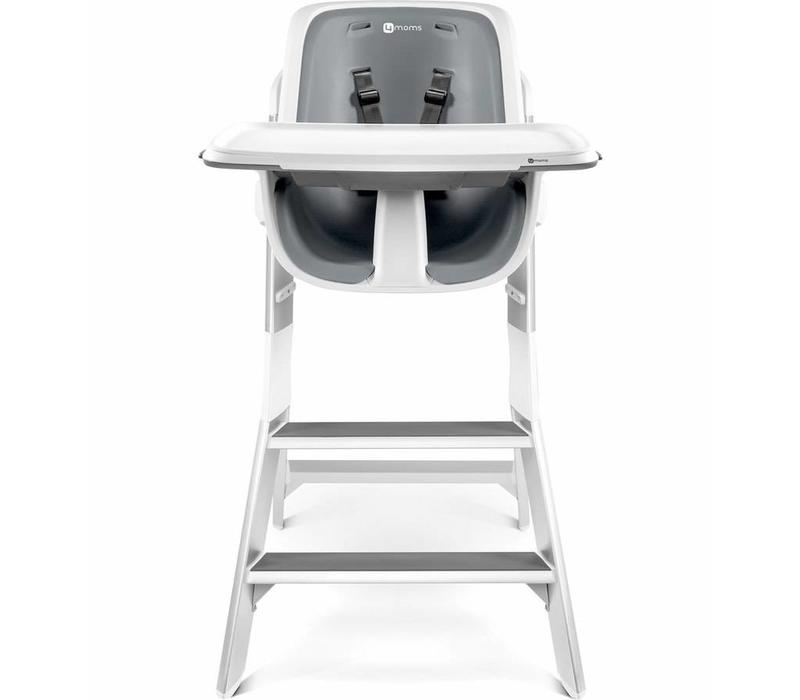 4moms High Chair In White - Grey