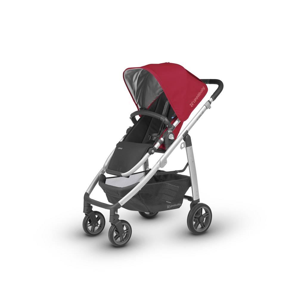 UppaBaby 2018 Uppa Baby Cruz Stroller In DENNY (Red/Silver/Black ...