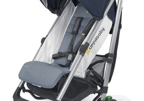 UppaBaby 2018 Uppa Baby G-Luxe Stroller In AIDAN (Denim/Silver)