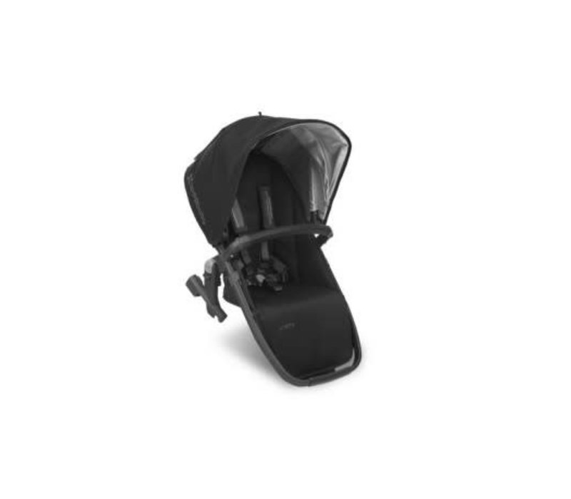 Uppa Baby 2018 Vista Rumble Seat (Only) In JAKE (Black/Carbon/Black Leather)