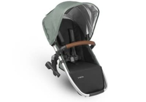 UppaBaby Uppa Baby 2018 Vista Rumble Seat (Only) In EMMETT (Green Mélange/Silver/Saddle Leather)