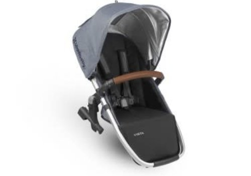 UppaBaby Uppa Baby 2018 Vista Rumble Seat (Only) In GREGORY (Blue Mélange/Silver/Saddle Leather)
