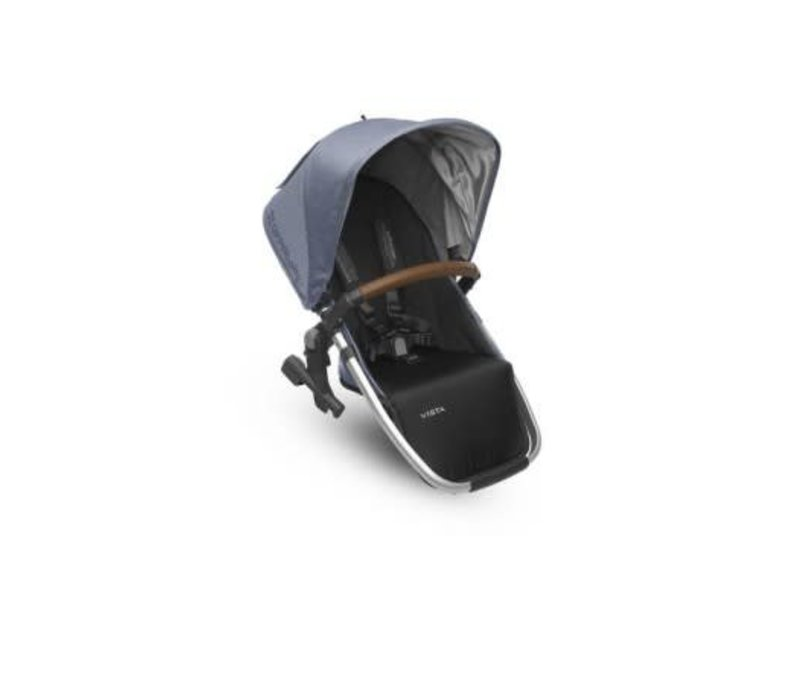 Uppa Baby 2018 Vista Rumble Seat (Only) In HENRY (Blue Marl/Silver/Saddle Leather)