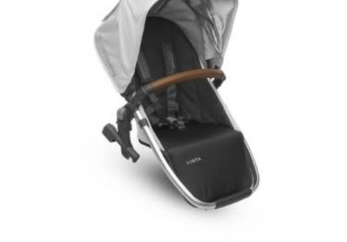 UppaBaby Uppa Baby 2018 Vista Rumble Seat (Only) In LOIC (White/Silver/Saddle Leather)