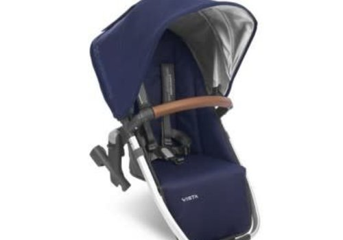 UppaBaby Uppa Baby 2018 Vista Rumble Seat (Only) In TAYLOR (Indigo/Silver/Saddle Leather)