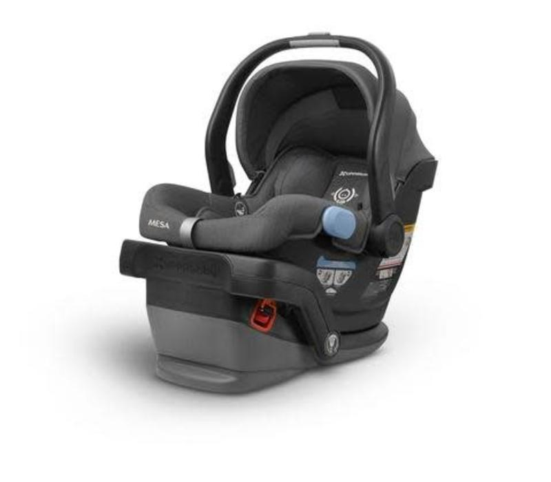 2018 UppaBaby MESA Infant Car Seat With Base In JORDAN (Charcoal Mélange)