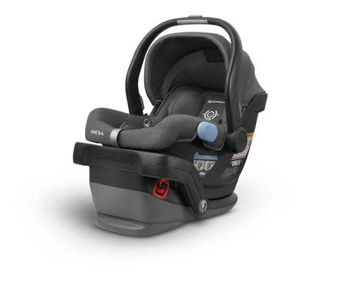 uppababy 2018 uppababy mesa infant car seat with base in jordan charcoal m lange. Black Bedroom Furniture Sets. Home Design Ideas